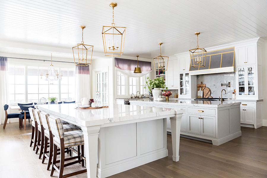 Kitchen via Emily Jackson / The Ivory Lane