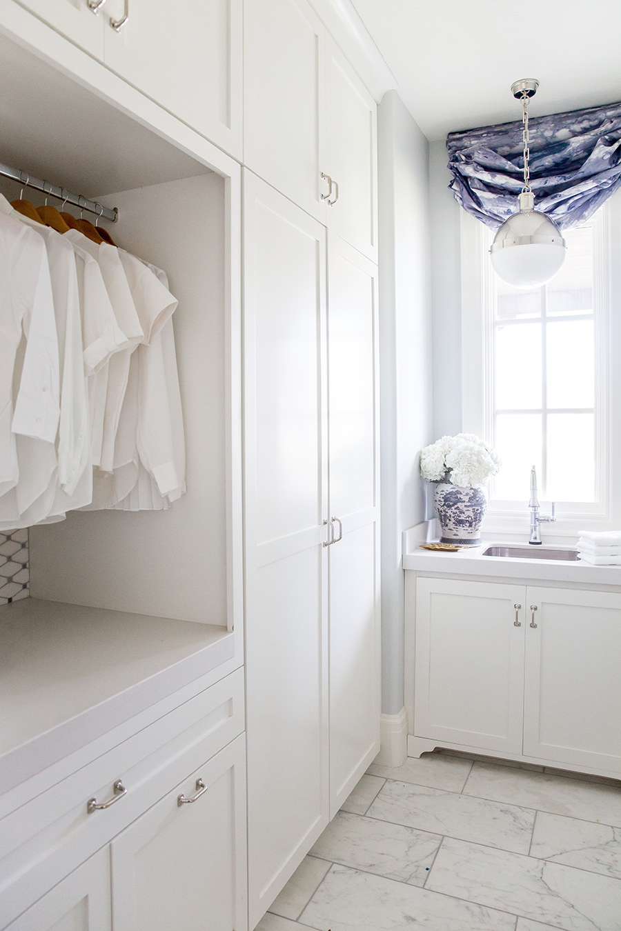 Laundry Room via Emily Jackson / The Ivory Lane