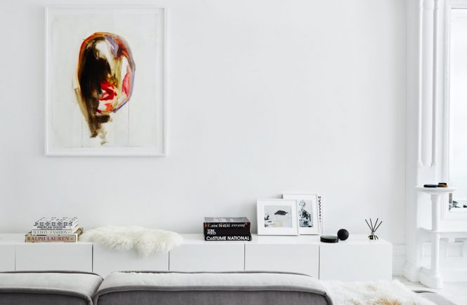Art in a Minimal Brooklyn Retreat