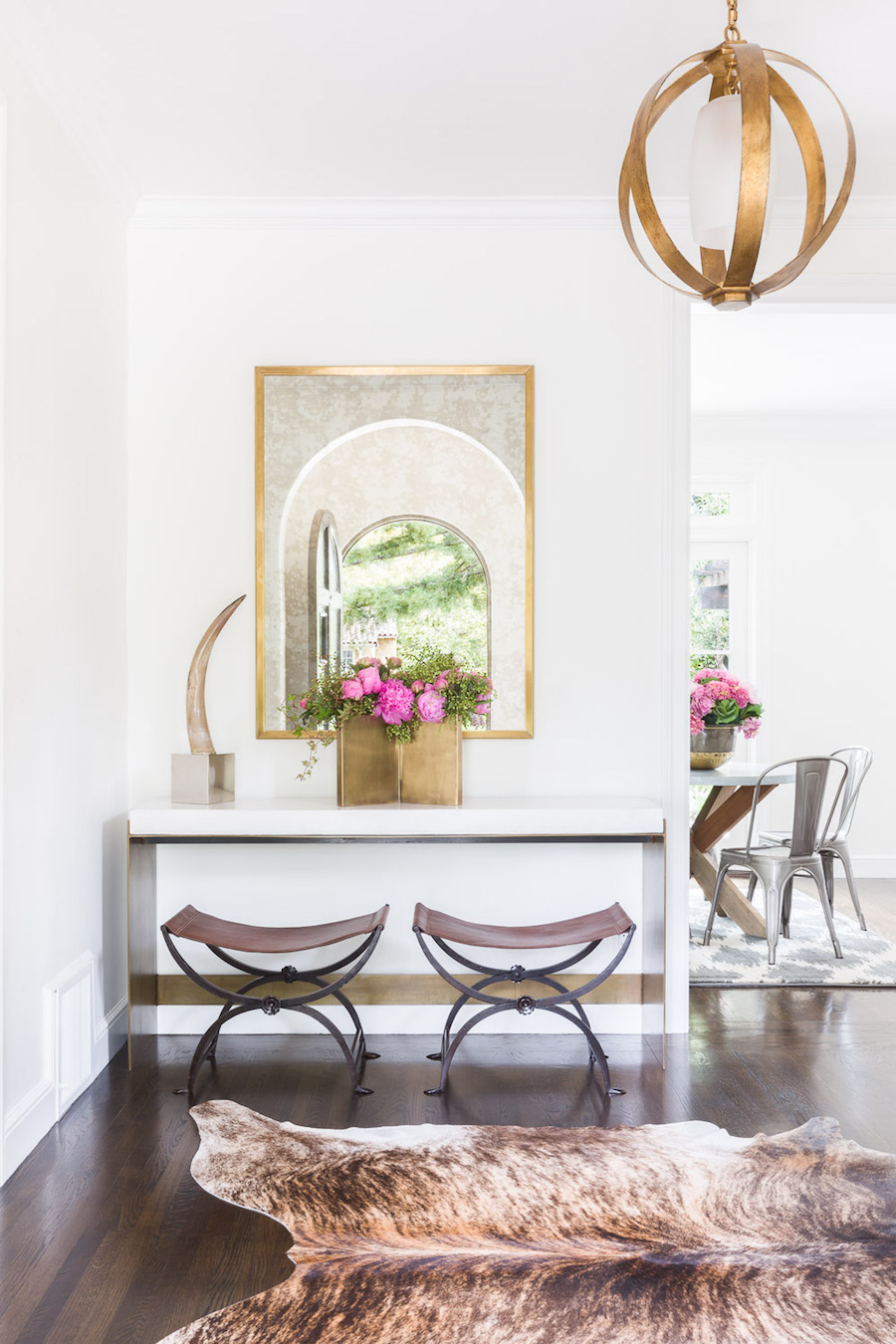 Gorgeous Entryway by Amanda Barnes