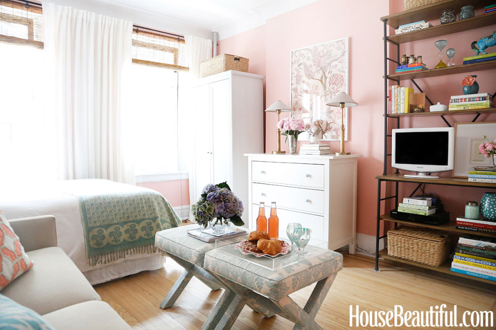 A Small Space with a Feminine Touch