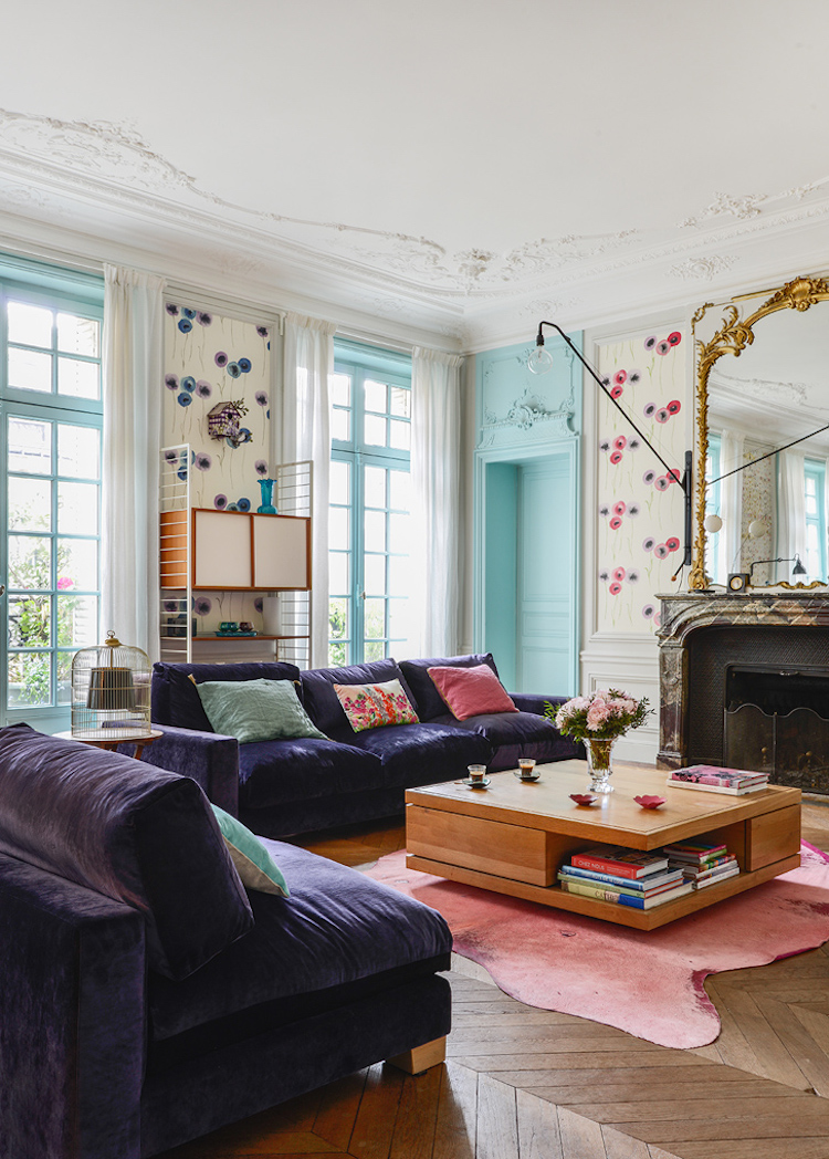 The most whimsical bohemian apartment for Whimsical living room