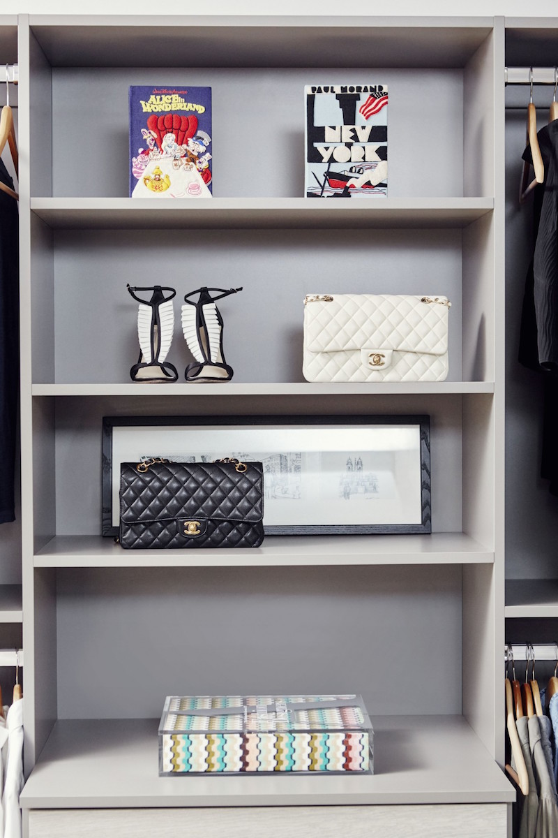Jacey Duprie's Closet Shelving Damsel in Dior