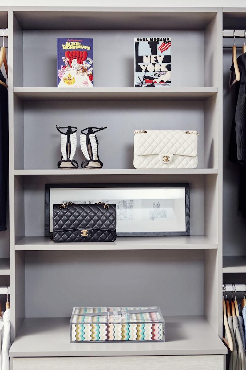 Jacey Duprie's Closet Shelving Damsel in Dior