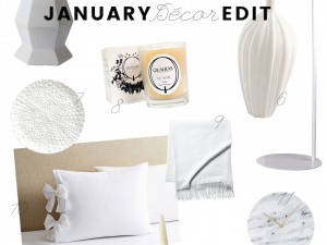 The January Décor Edit 2017