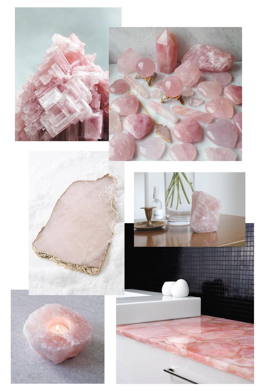 Rose Quartz Moodboard Inspiration