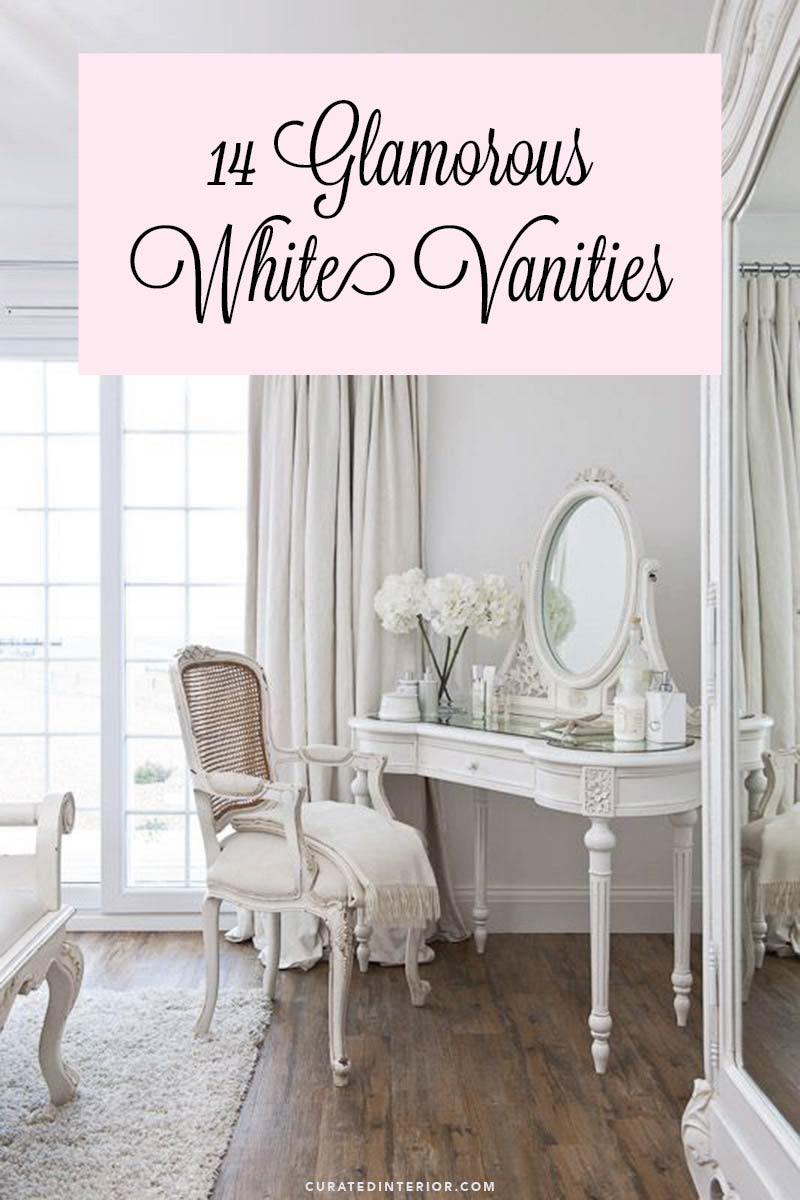 14 of our top picks for white vanities