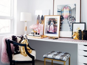 A Regal and Glamorous Bedroom Update