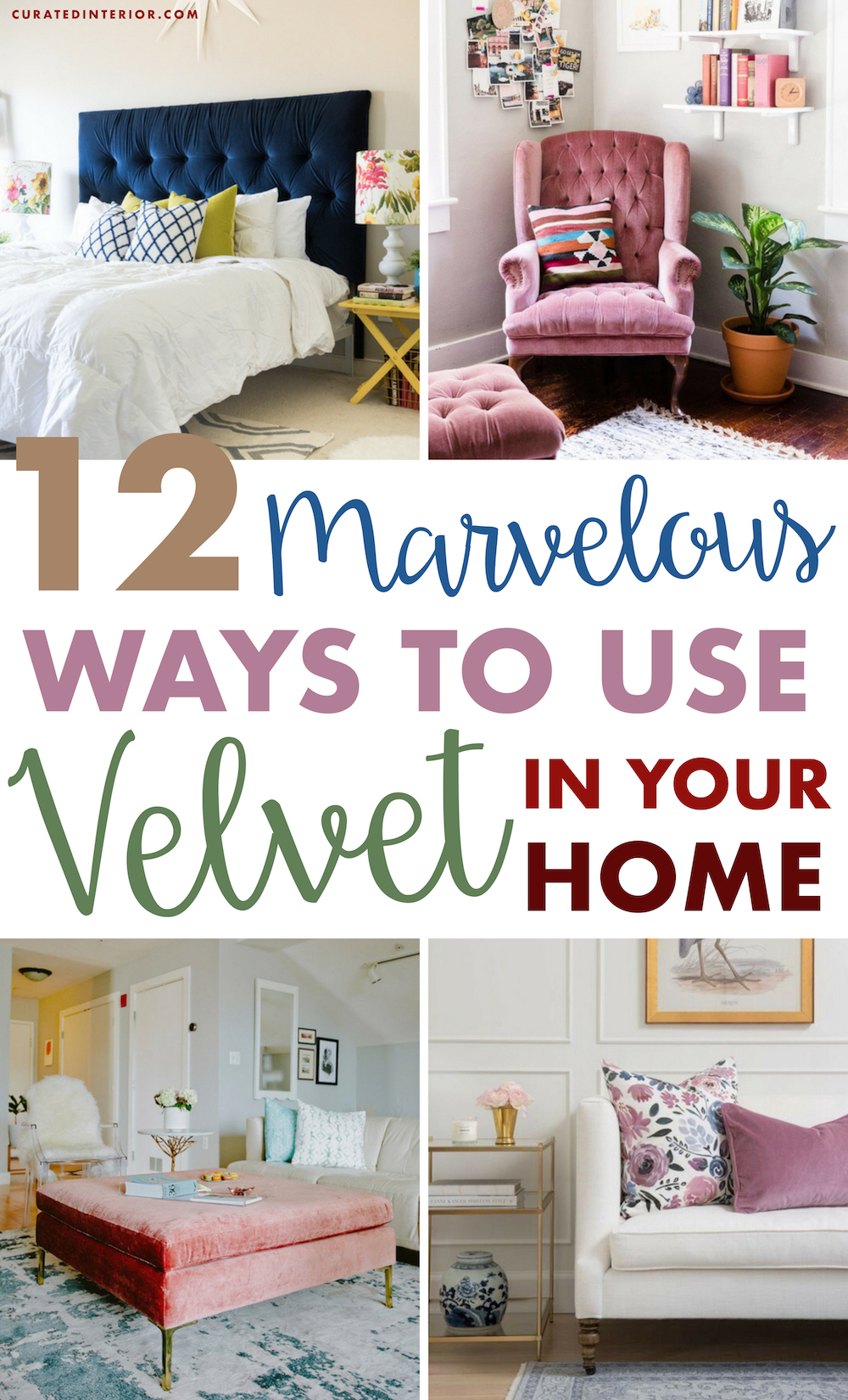 How To Decorate With Velvet In The Home