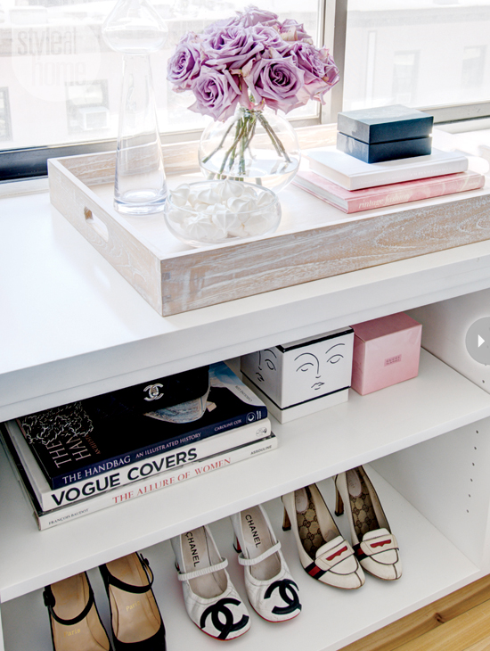 Open Shelving Decor