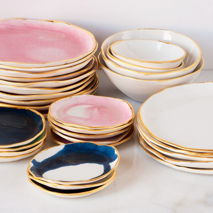 Suite One Studio Ceramic Plates