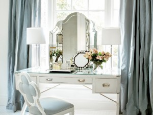 12 Ultra-Glamorous White & Mirrored Vanities