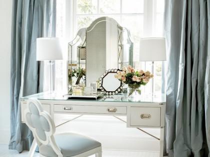 14 Ultra-Glamorous White & Mirrored Vanities