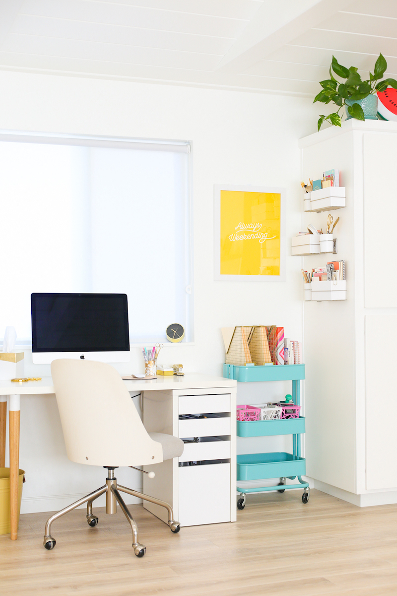 Lovely Indeed's Colorful Dream Office Studio!