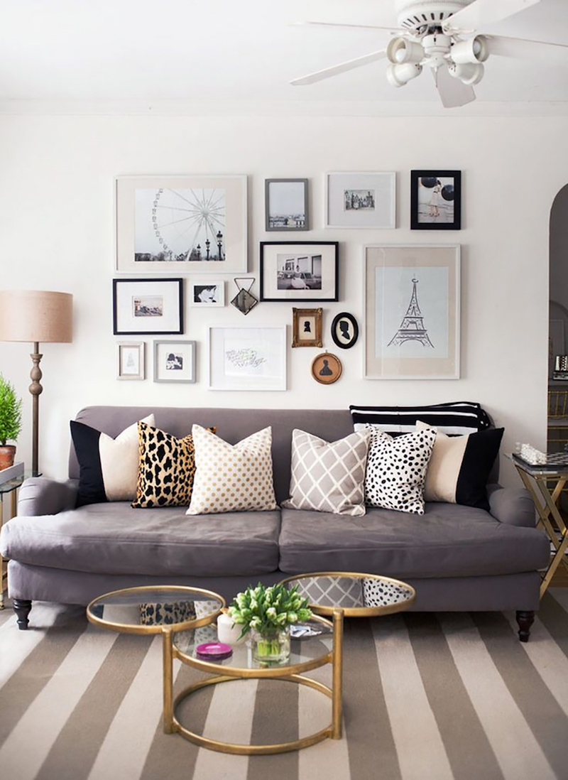 Eclectic Pillows via Caitlin Wilson