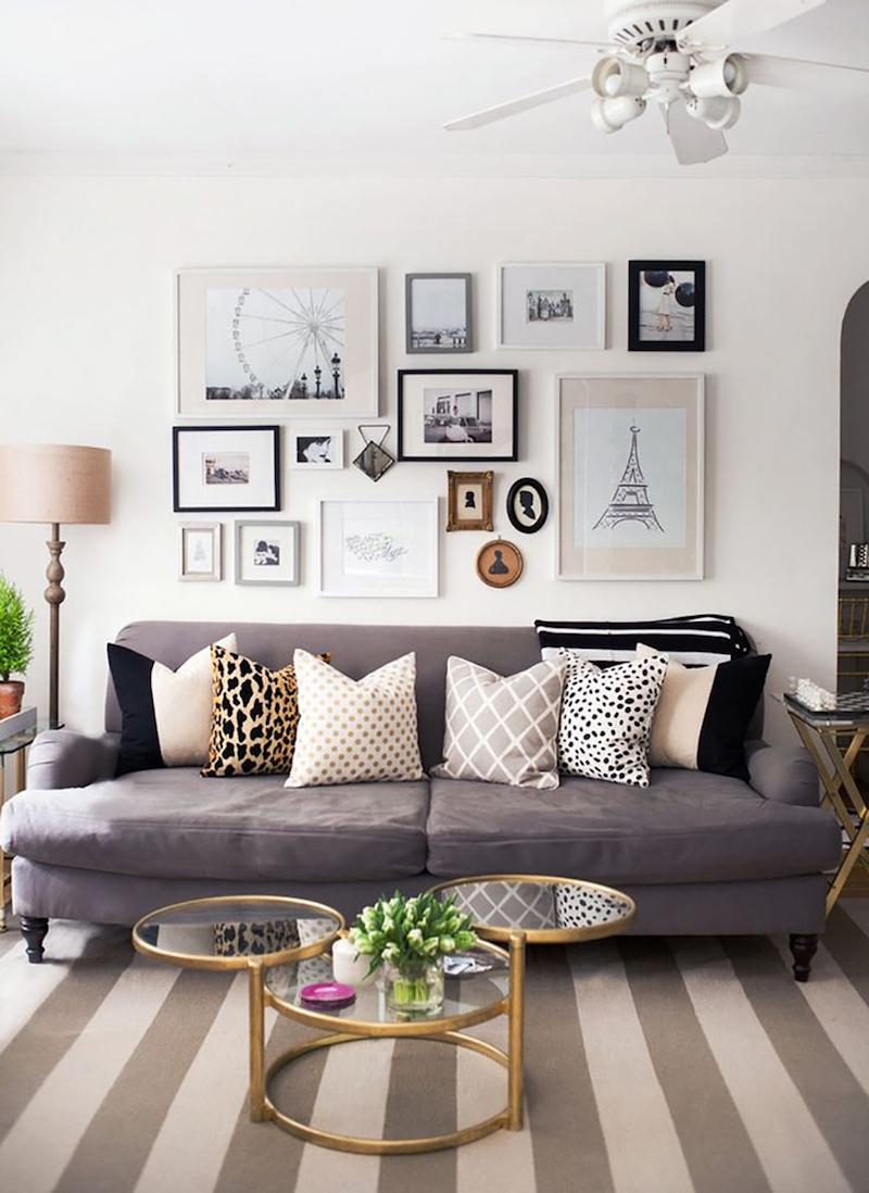 6 Ways to Style Decorative Throw Pillows