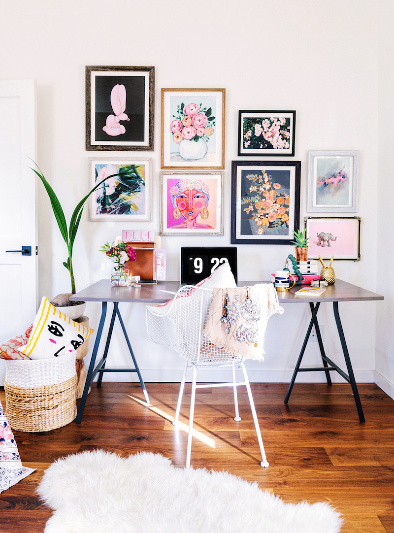 The Most Gorgeous Bohemian Gallery Wall…