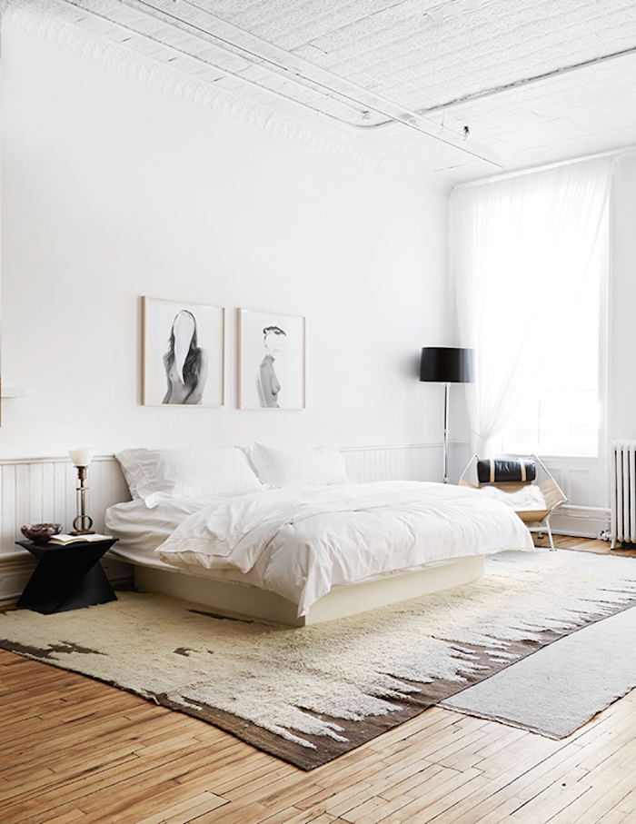 Neutral bedroom via The Apartment by The Line