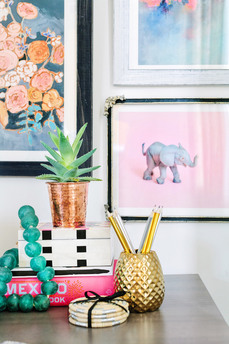 Pineapple-cup-with-gallery-wall