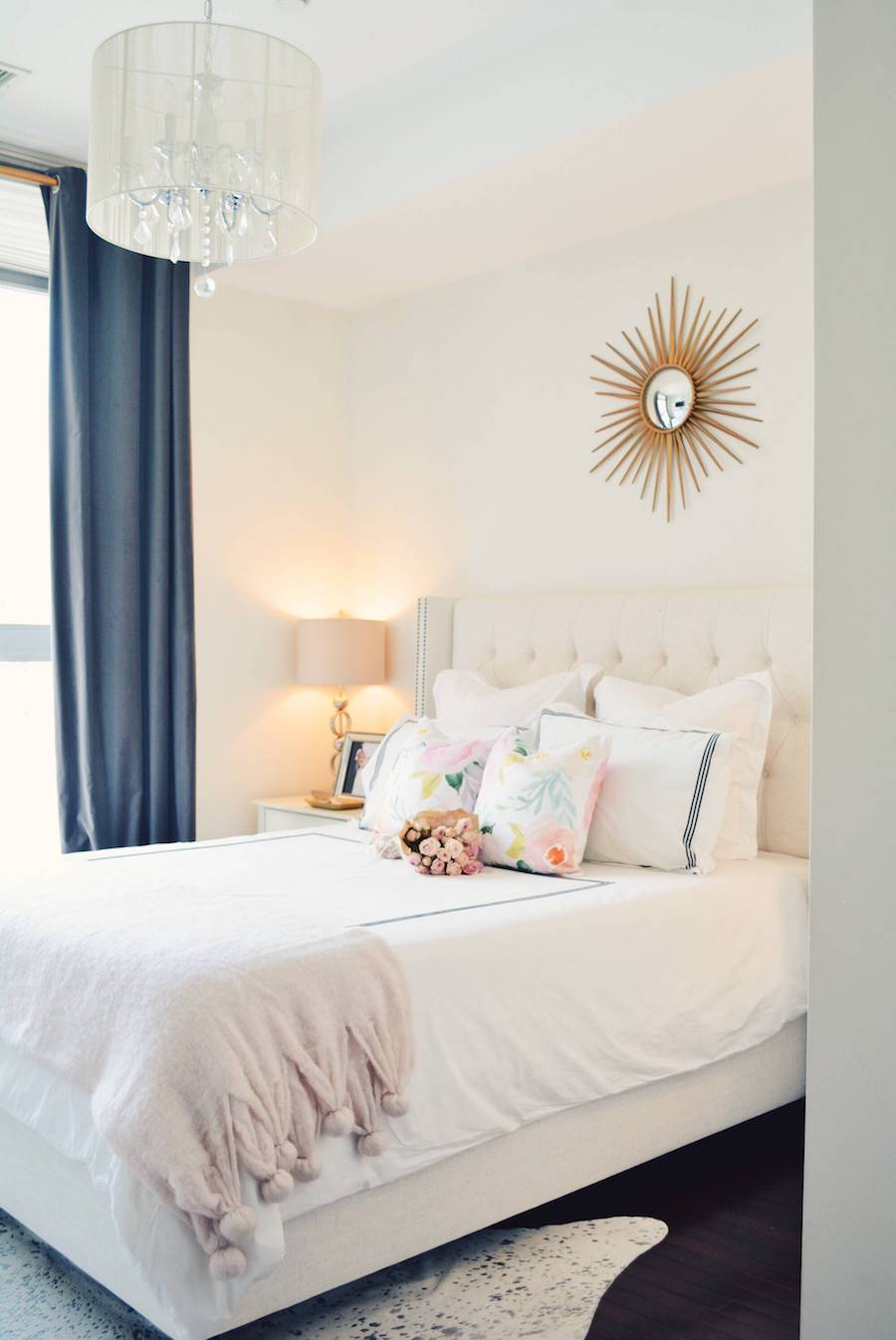 A Perfect Pink Bedroom Update