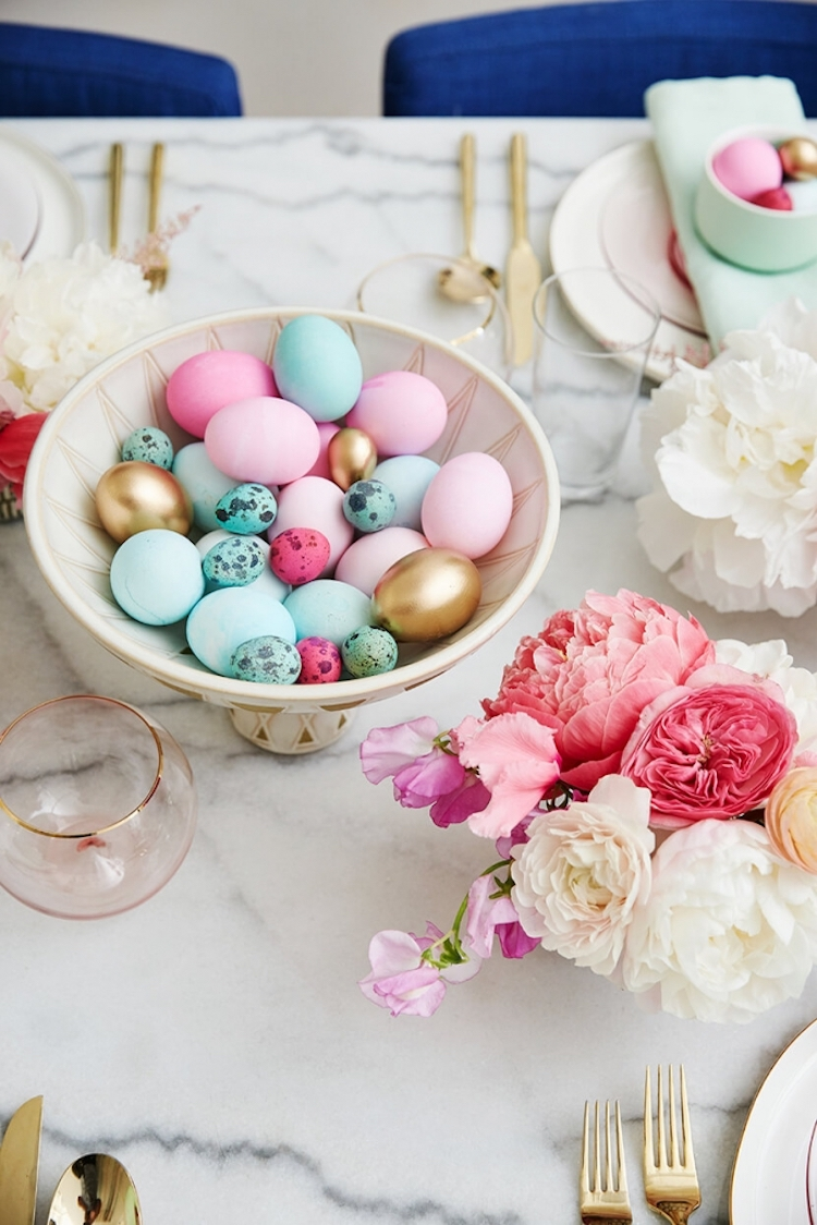 Emily Henderson Easter Eggs Brunch Decor