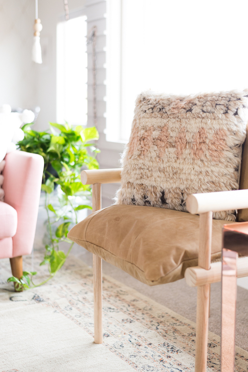 Neutral side chair by UO