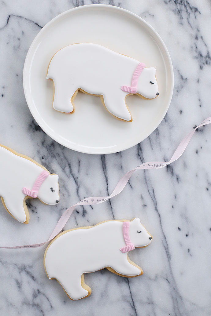 Polar Bear Sugar Cookies Recipe by Sweet Bake Shop