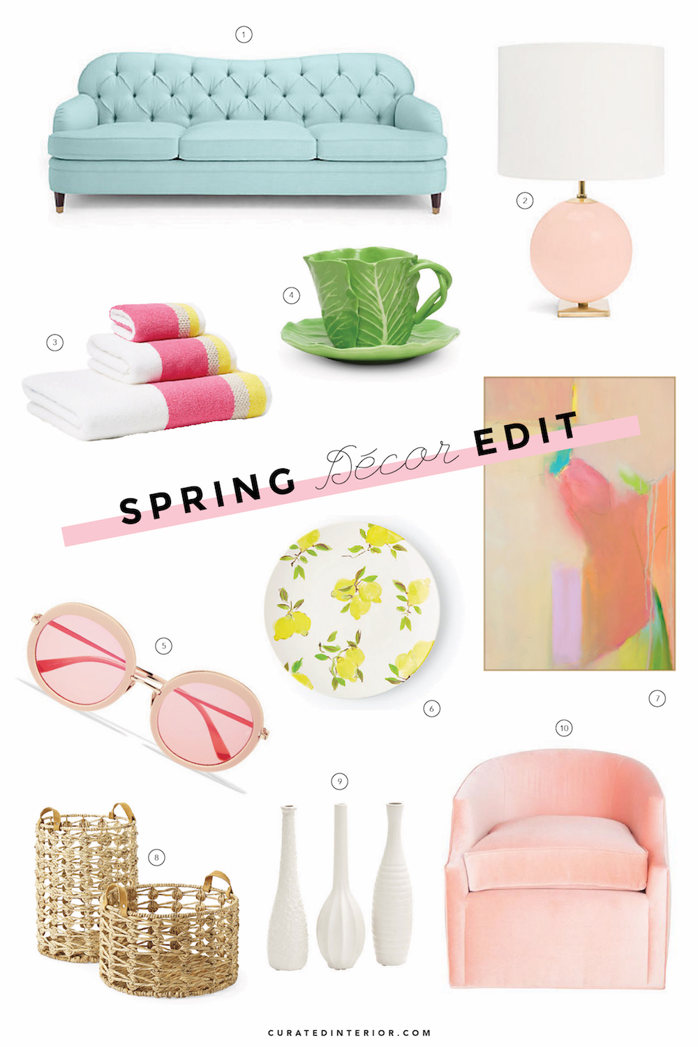 Our favorite decor picks for Spring 2017!