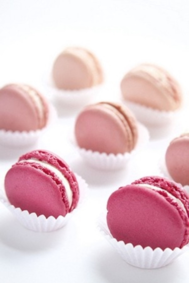 perfect pink macarons