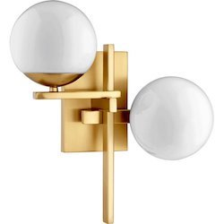 Atom 2-Light Wall Sconce $164