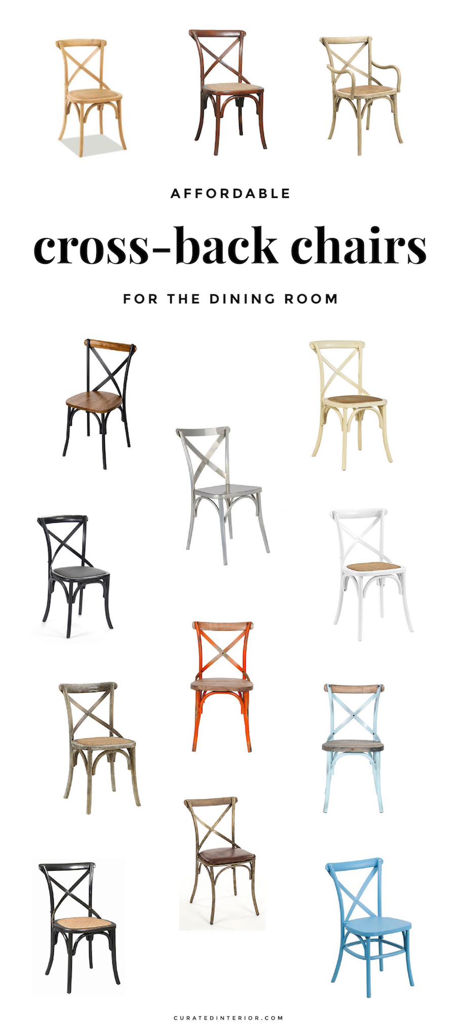Best Cross-back Chairs for Dining Room