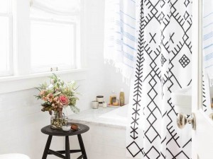 30 Beautiful Shower Curtains for Every Budget