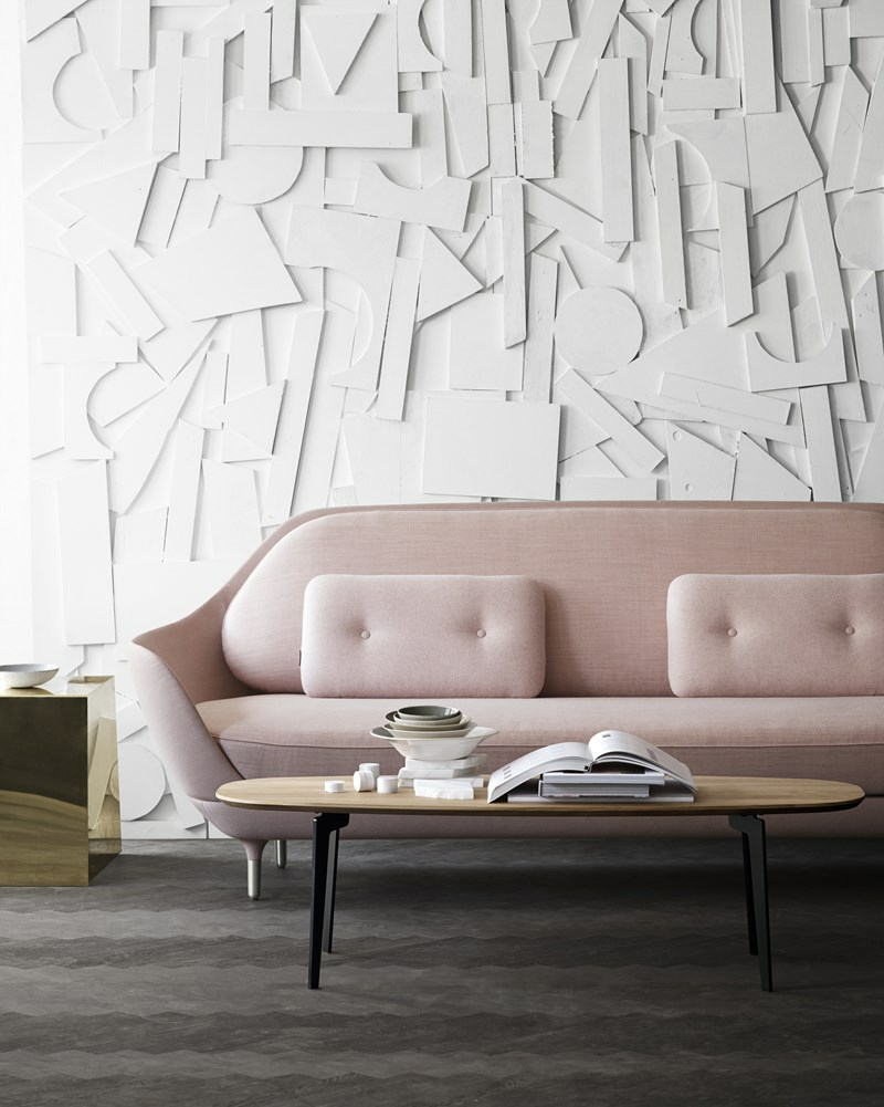 Blush sofa via jacobsen plus