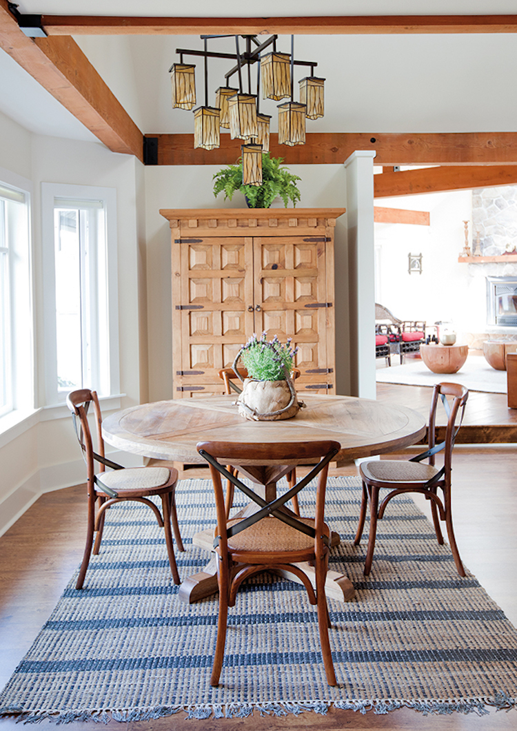Brown X Back Dining Chairs Via House Home