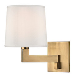 Hudson Valley Lighting Fairport 1-Light Swing Arm $316