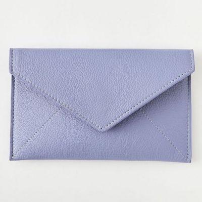 Leather Envelope Card Case