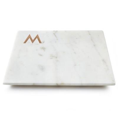 Marble & Copper Monogram Board