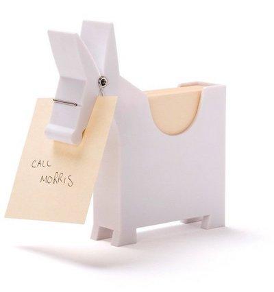 Morris Memo Holder design by Yaakuv Kafman for Monkey Business