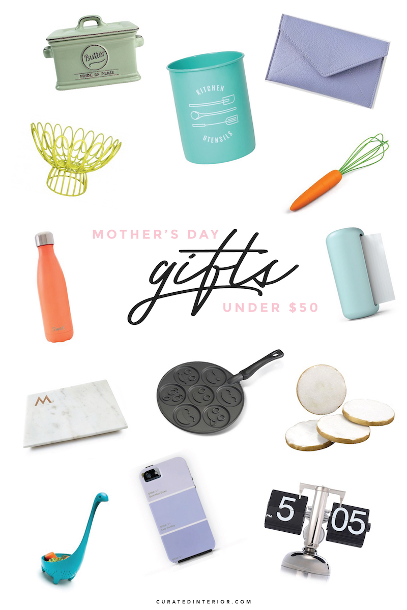 The best mother's day gifts under $50!