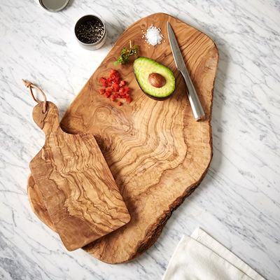 Olive Wood Rustic Cutting Board