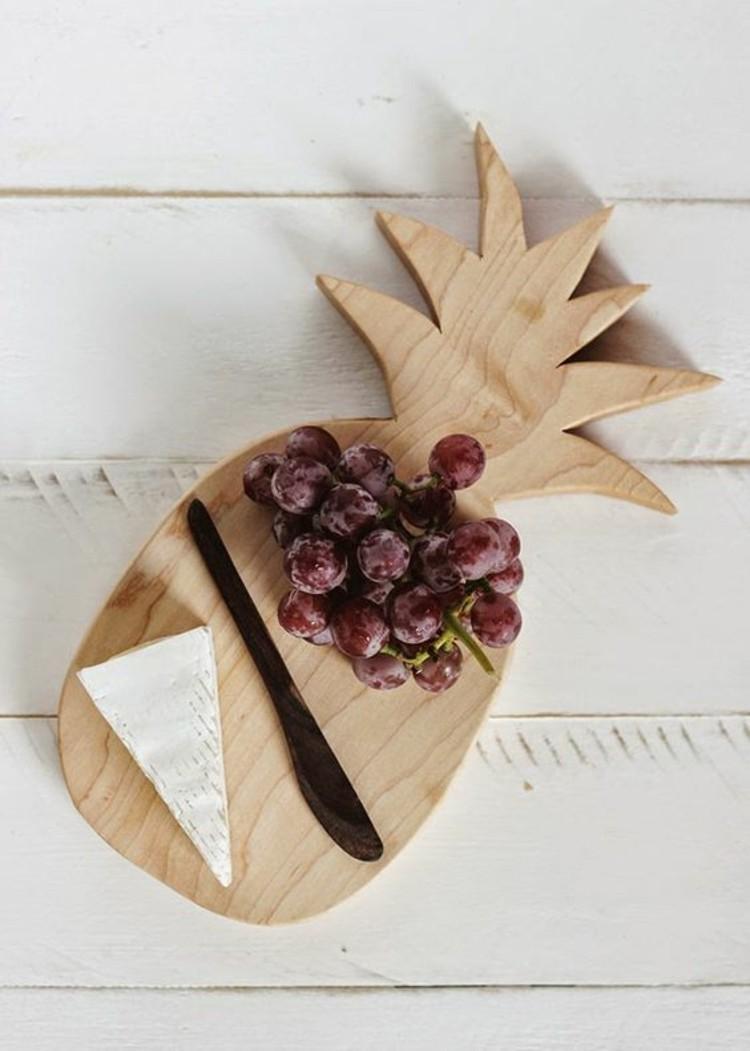 Pineapple DIY Cutting Board