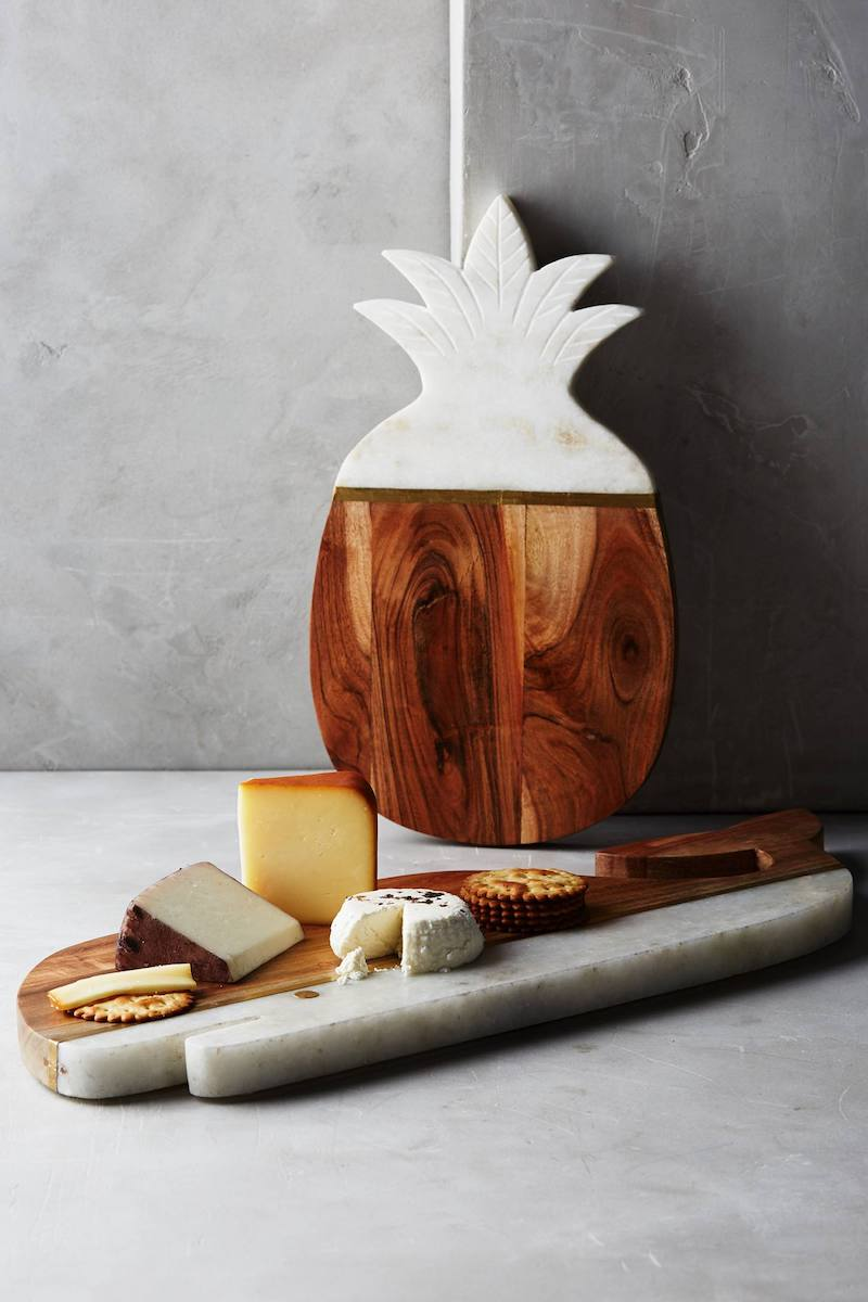 Pineapple cutting board from Anthropologie