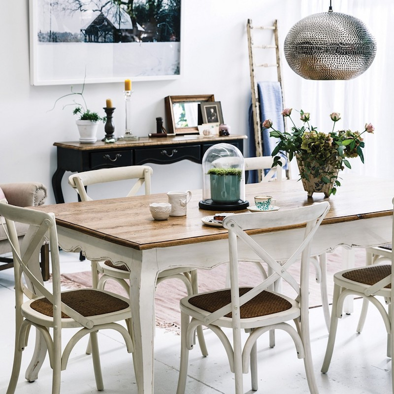 Affordable Dining Furniture: 14 Affordable Cross-Back Dining Chairs
