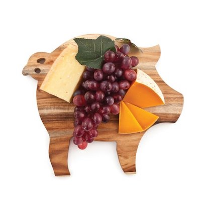Rustic Farmhouse Pig Cheese Board