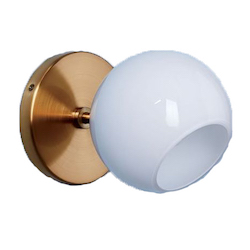 Staggered Glass Sconce - Single $49