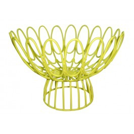 Yellow Wire Bowl