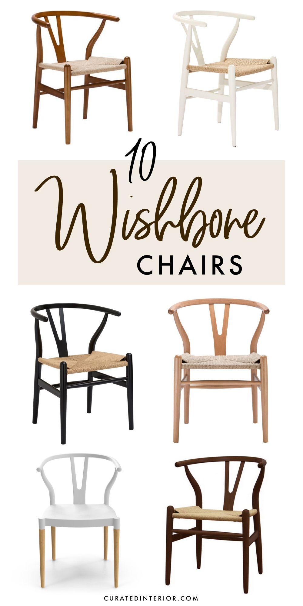 10 Wishbone Chairs