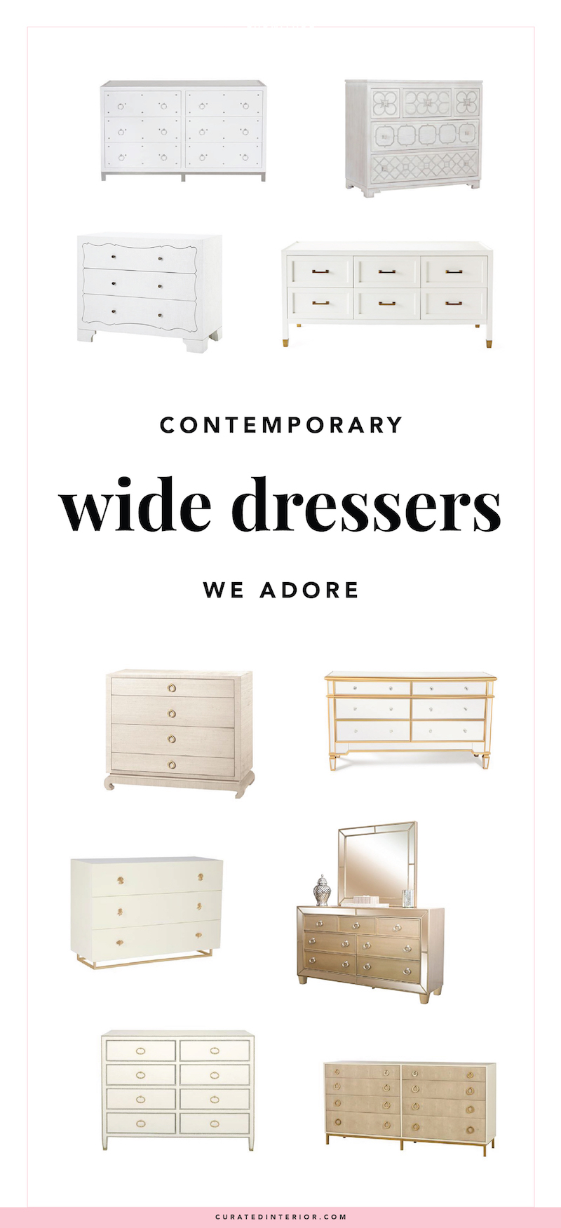 Our Favorite Contemporary Wide Dressers