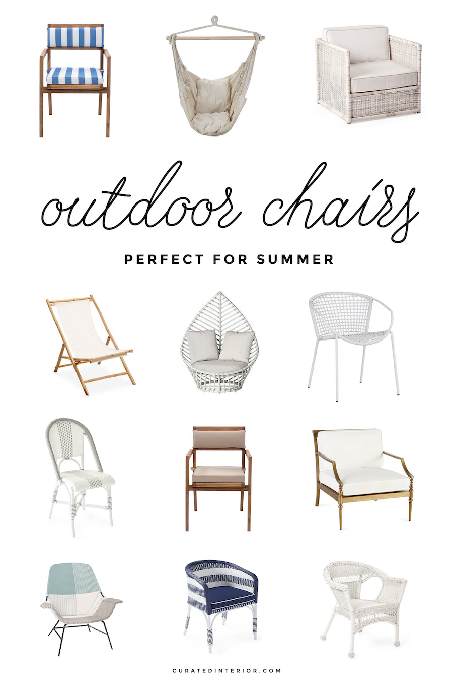 Outdoor Chairs Perfect for Summer