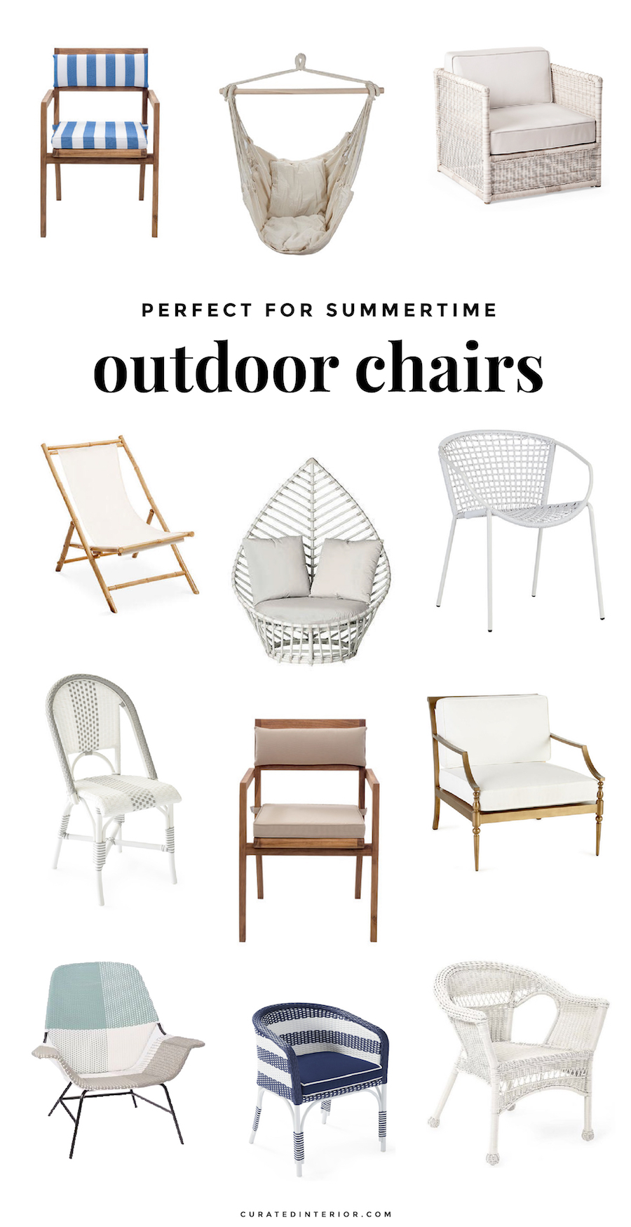 Outdoor Chairs We Love